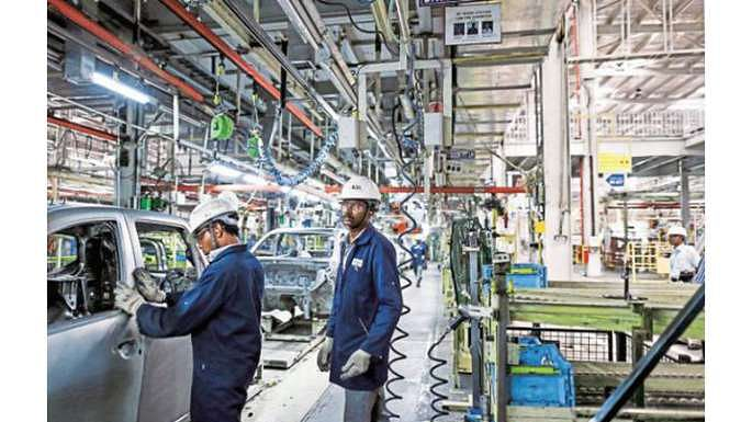 India's industrial production posts steepest fall in 8 yrs