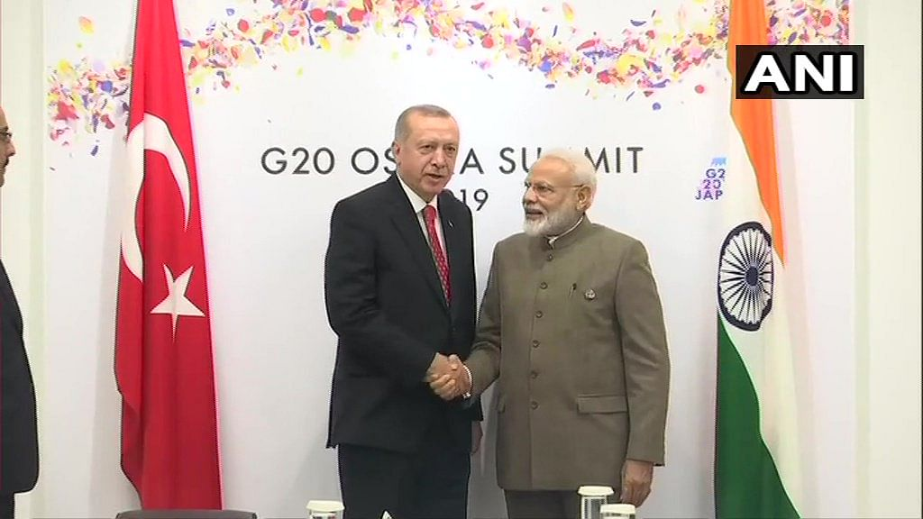 Latest news! PM Narendra Modi holds bilateral meeting with President of Turkey Recep Tayyip Erdogan in Osaka