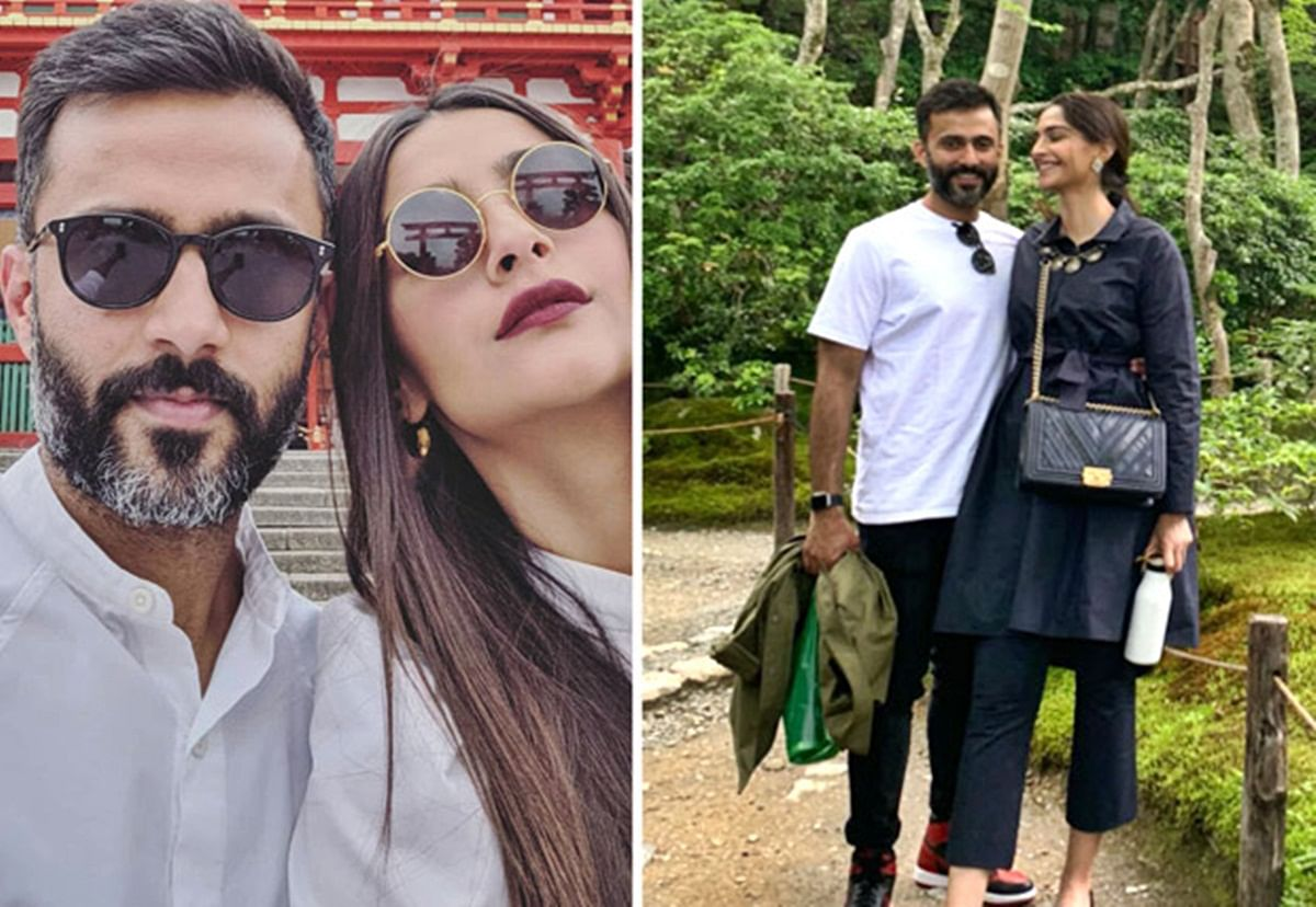 Sonam Kapoor, Anand Ahuja take a romantic trip to Japan