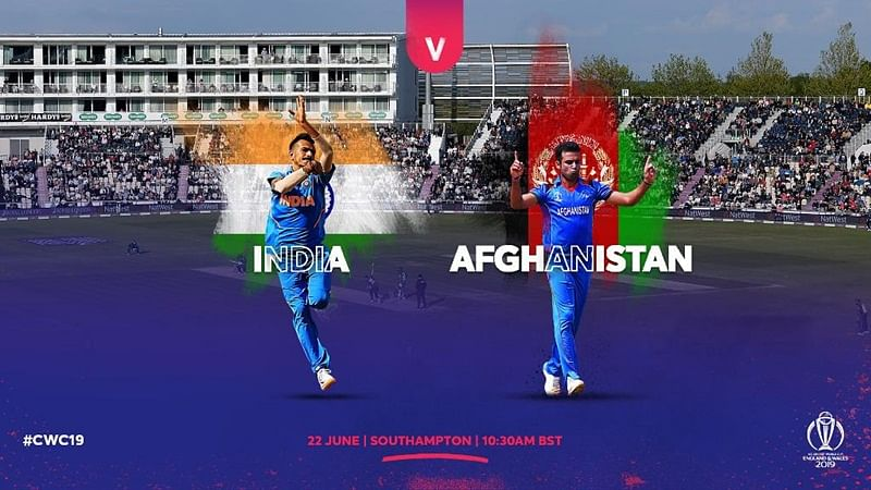 Cricket Score - India vs Afghanistan World Cup 2019 Match 28