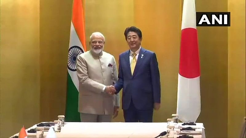 PM Narendra Modi holds talks with Shinzo Abe ahead of G20 Summit, discusses issues of mutual interest