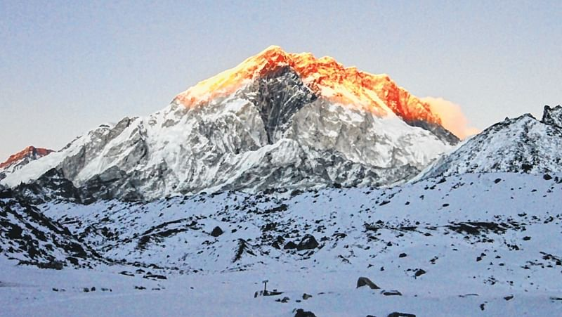 Human waste is piling up on Mount Everest