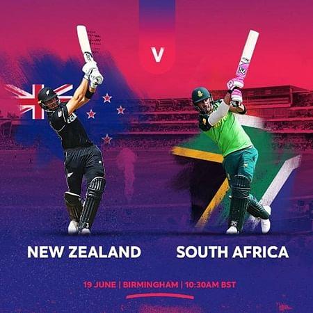 Cricket Score - New Zealand vs South Africa World Cup 2019 Match 25