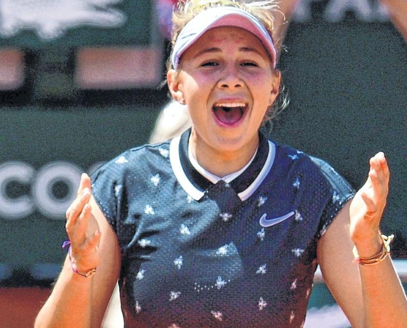 Amanda Anisimova, sensation at Roland-Garros quarter-finals