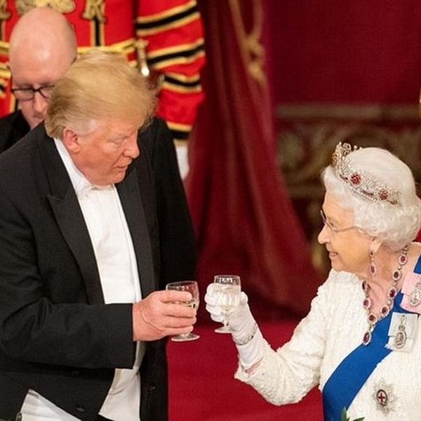 Donald Trump claims Queen had fun with him during his United Kingdom visit