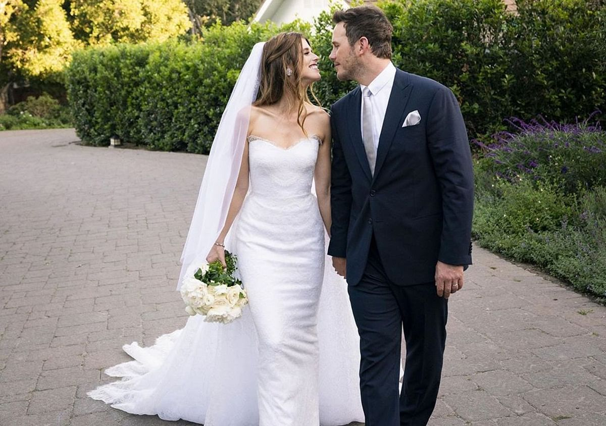 Chris Pratt and Katherine Schwarzenegger share first wedding picture