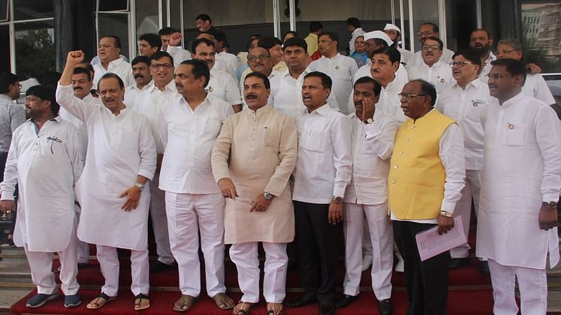 Instead of loyal Sena, BJP leaders, Congress-NCP leaders were inducted in cabinet expansion: Ajit Pawar