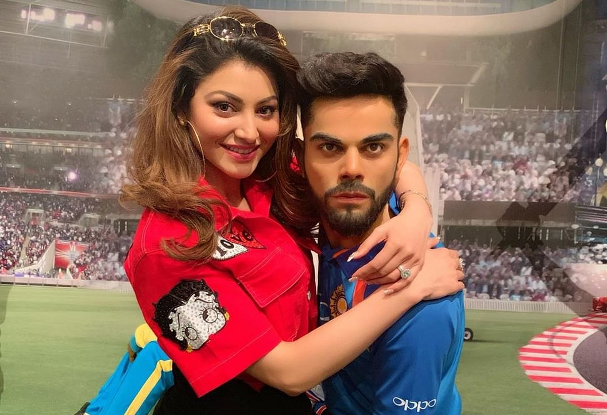 Anushka Maar Dalegi! Urvashi Rautela's snap with Virat Kohli has fans calling for his wife