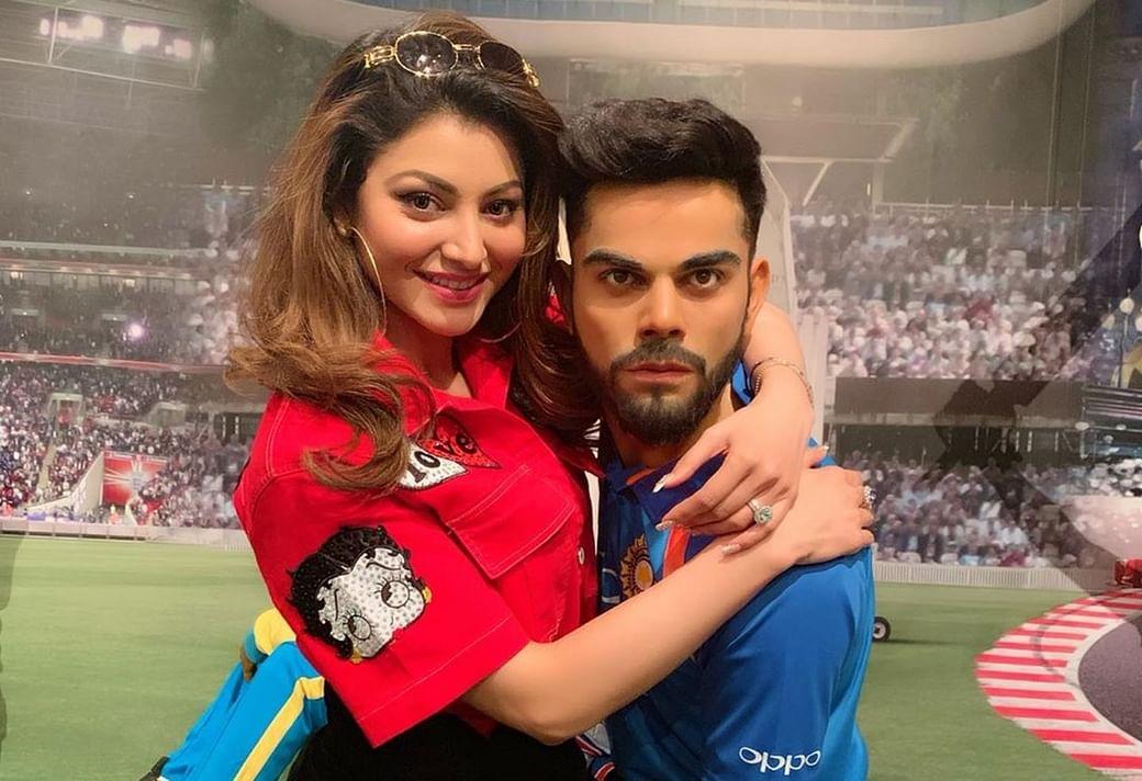 Anushka Maar Dalegi! Urvashi Rautela's snap with Virat Kohli has fans  calling for his wife