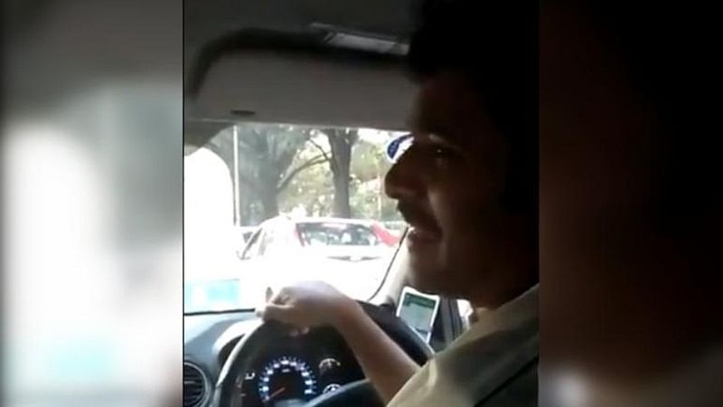 Video of Sanskrit-speaking cab driver in Bengaluru conversing with passenger goes viral, watch it