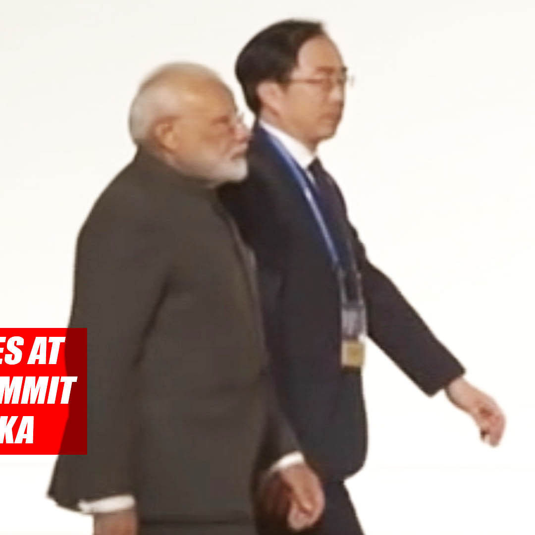 PM Modi arrives at venue of G20 Summit in Japan's Osaka