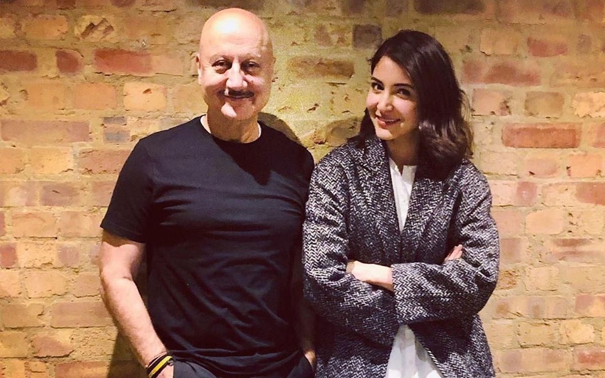 Anupam Kher admires Anushka Sharma's 'cool attitude'