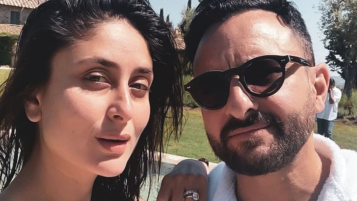 Kareena Kapoor shoots with Saif Ali Khan at home 'again'; deets inside
