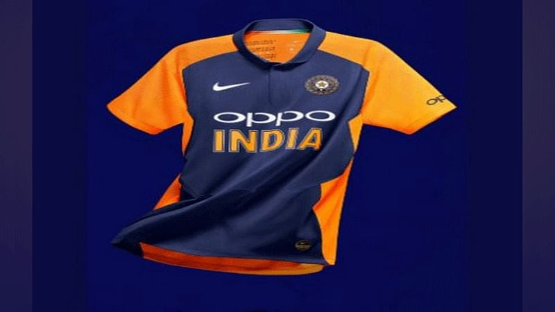 BCCI reveals India's away jersey