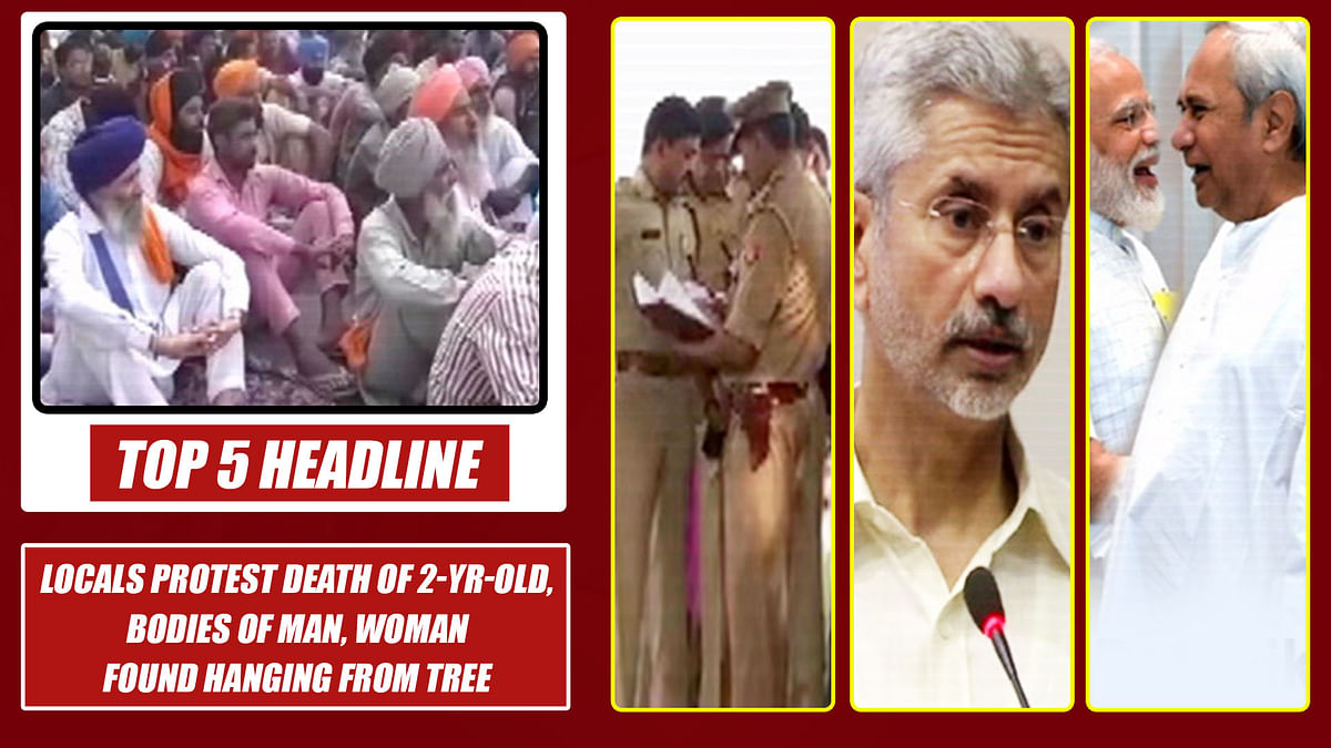 Top 5 Headlines: Locals Protest Death Of 2-yr-old, Bodies Of Man, Woman Found Hanging From Tree