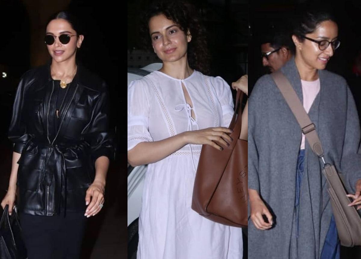 Celebrity Spotting: Watch Deepika Padukone, Shraddha Kapoor and more get monsoon ready