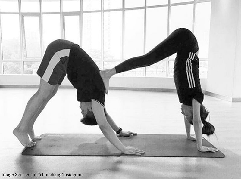 International Yoga Day 2019: 5 couples yoga poses to strengthen your bonds