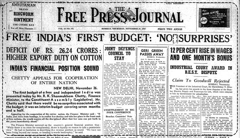 Throwback to 1947: Everything about Independent India's first budget
