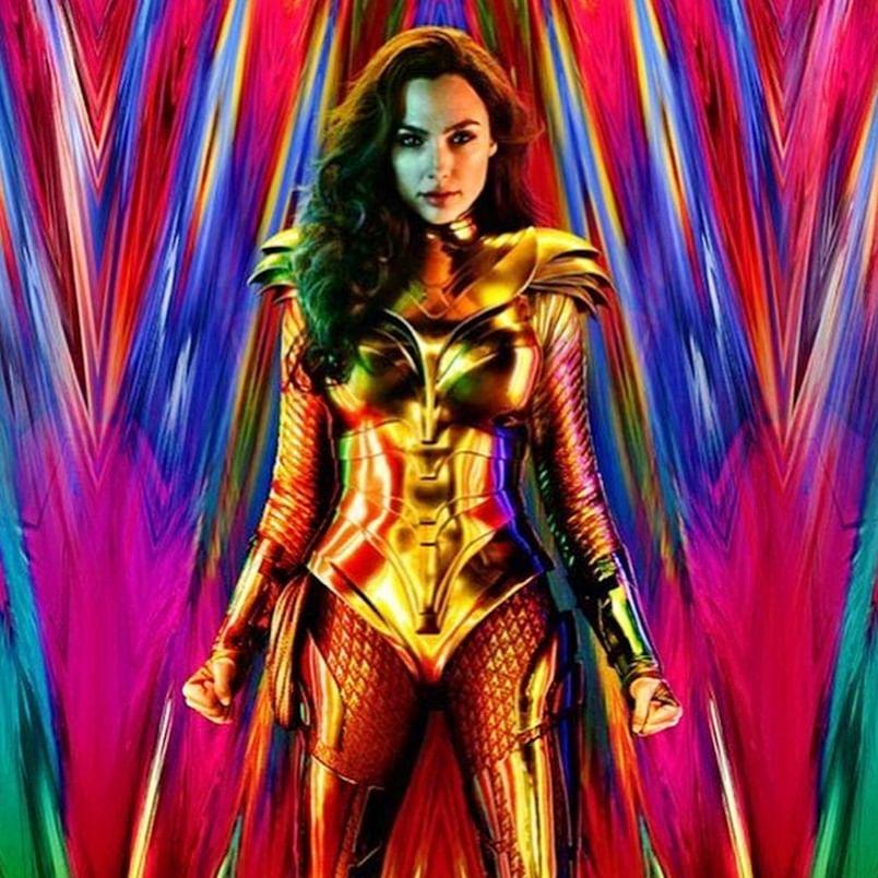 Wonder Woman 1984' first poster: Gal Gadot dazzles as fierce warrior in golden costume