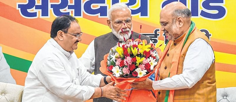 JP Nadda appointed as BJP's working president, Amit Shah to remain party chief