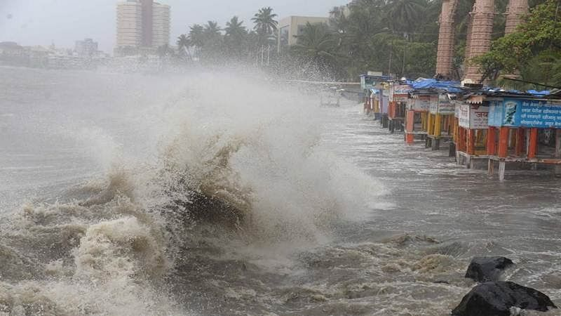 Cyclone Vayu: Don't venture into sea, keep safe distance from shoreline, warns Mumbai Police