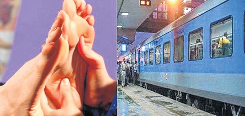 Western Railway withdraws proposal for head, foot massages on trains