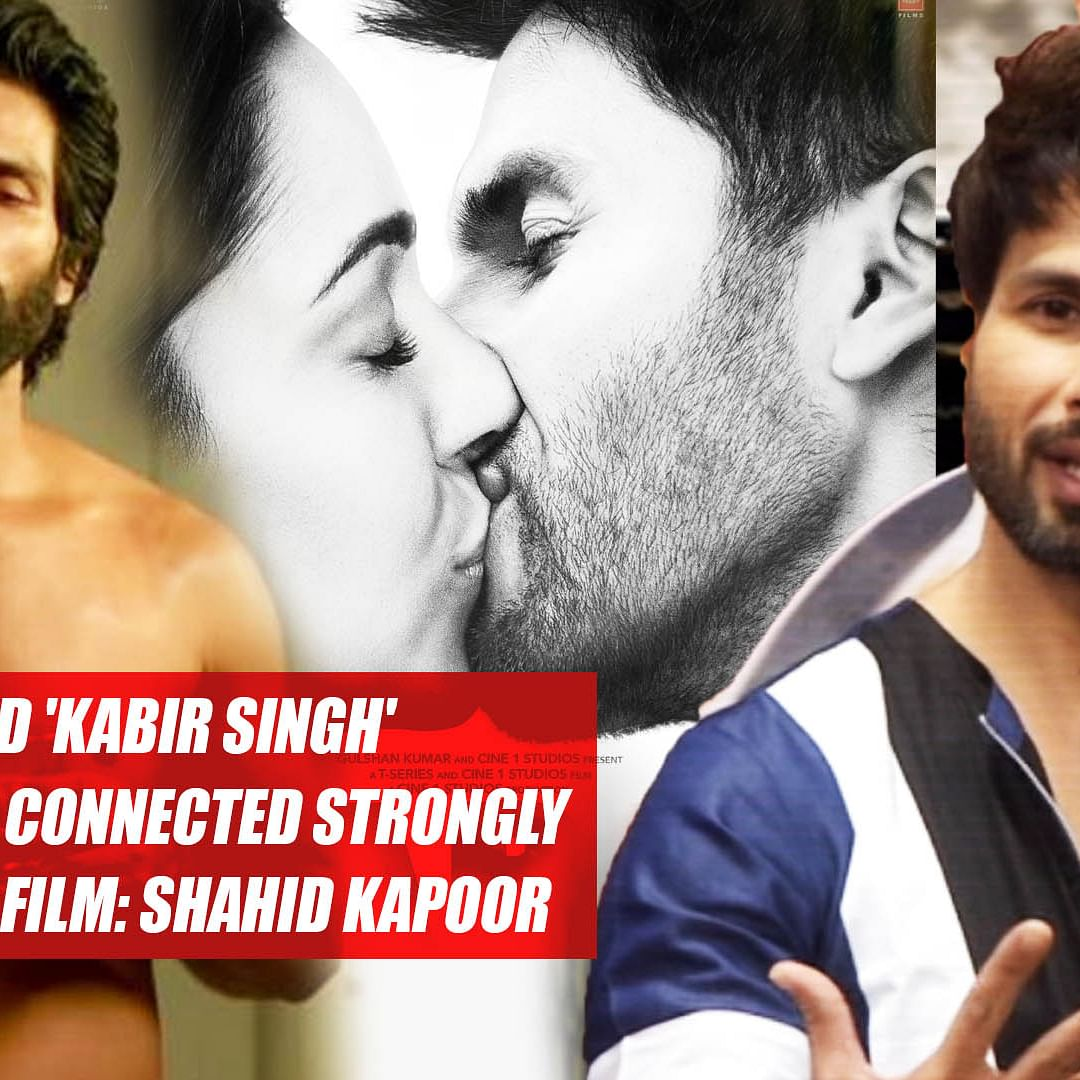 I Did 'Kabir Singh' Because I Connected Strongly With Original Film: Shahid Kapoor