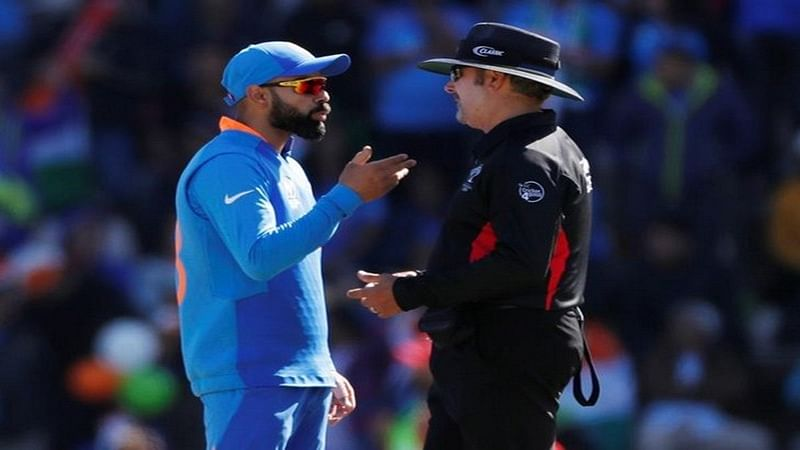 Due to excessive appealing, Viral Kohli fined 25 per cent match fee