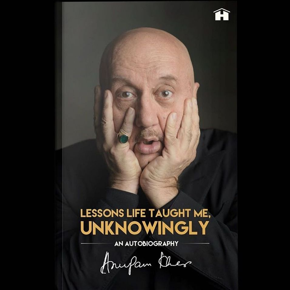 Actor Anupam Kher's autobiography to hit stands in August