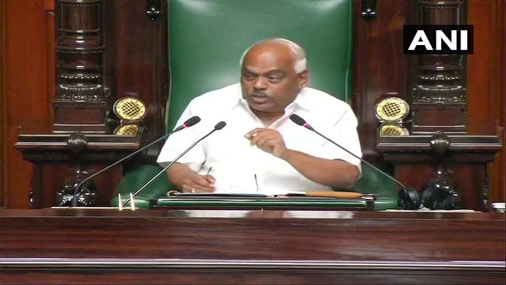Karnataka crisis: A decision on confidence motion has to be taken today, says K R Ramesh Kumar