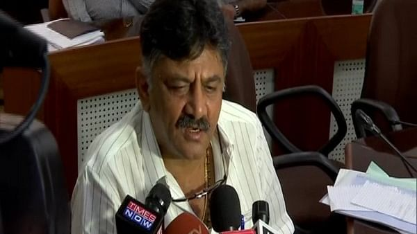 Karnataka Minister DK Shivakumar