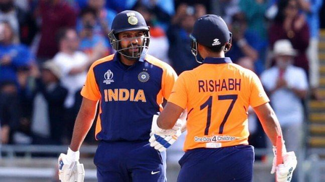 You all wanted Rishabh Pant, there he's at No. 4: Rohit Sharma leaves media in splits at post-match interaction