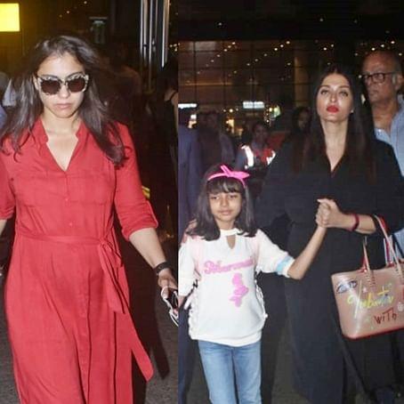 Celebrity Spotting: Kajol, Shah Rukh Khan, Aishwarya Rai Bachchan and others clicked