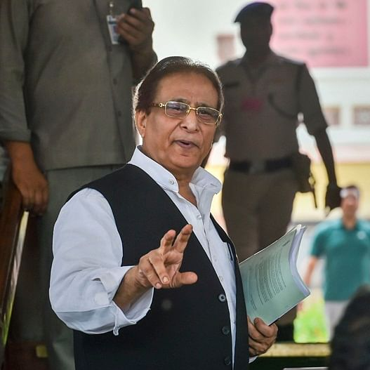 SP leader Azam Khan apologises in Lok Sabha for remarks against BJP MP Rama Devi