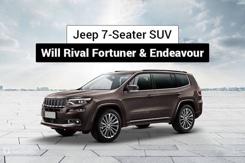Jeep 7-Seater SUV In The Works For India