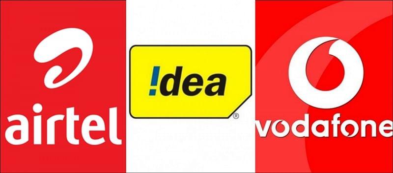 Airtel, Vodafone, Idea