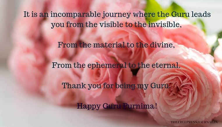 Guru Purnima 2019: Wishes, greetings, images and quotes in English to share on SMS, WhatsApp, Facebook, Instagram