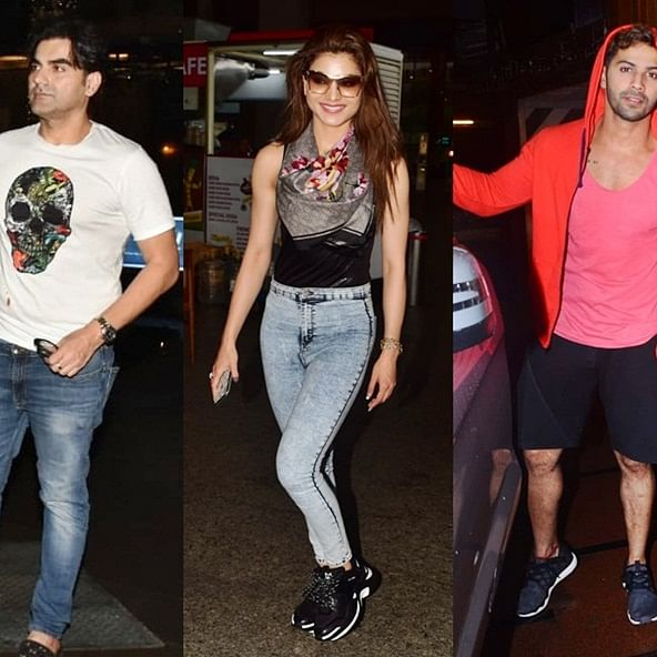 Celebrity Spotting: Arbaaz Khan, Varun Dhawan snapped around the city