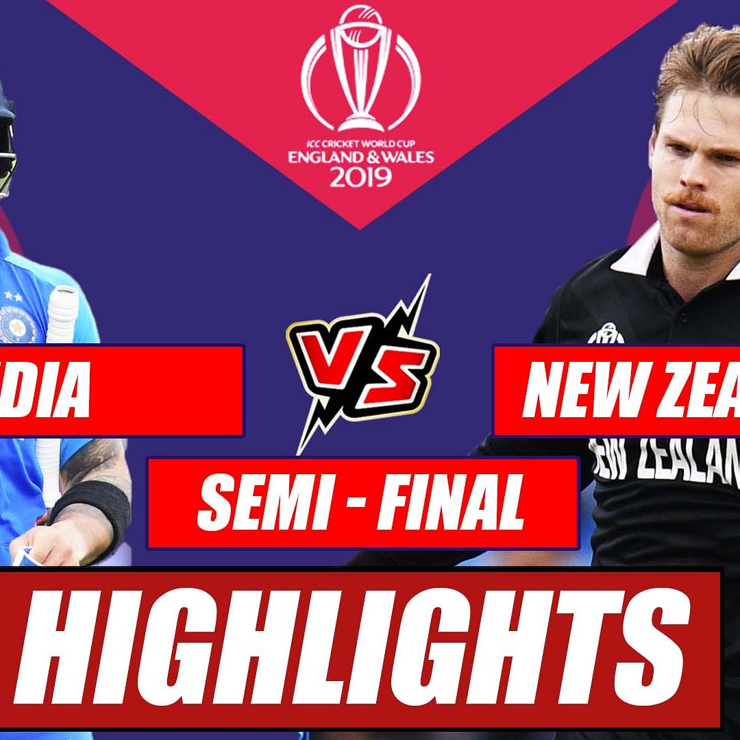 India vs New Zealand – Semi Final Match Highlights | Dark Horse New Zealand End India's Campaign