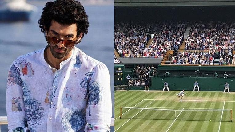 Aditya Roy Kapur enjoys Roger Federer vs Novak Djokovic Wimbledon final