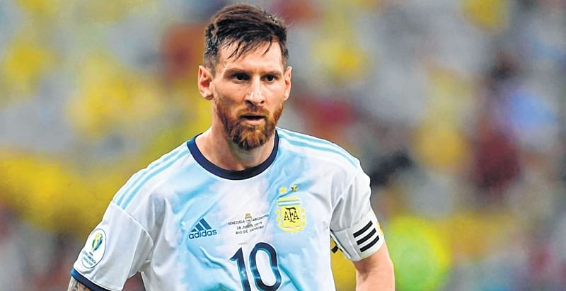 Copa America: Lionel Messi sees red in 14 years