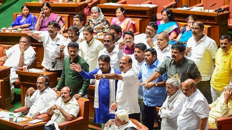 Karnataka Assembly adjourned till Monday without floor test