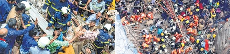 Dongri building collapse: Was asleep when building collapsed; Injured resident