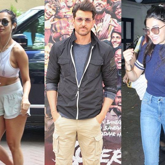 Celebrity Spotting: Malaika Arora, Jacqueline Fernandez and others snapped around Mumbai