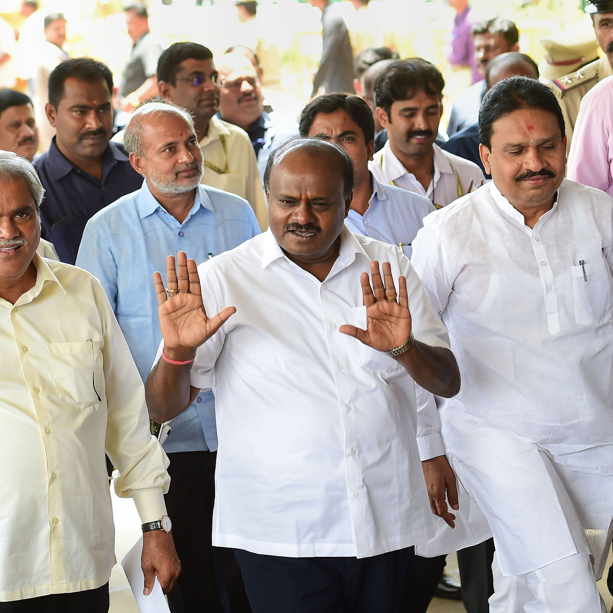 Karnataka crisis: Gowdas doing all they can to save the chair