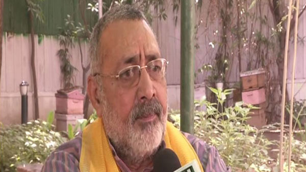 India more scared of people who speak Pakistan's language in Parliament: Giriraj Singh