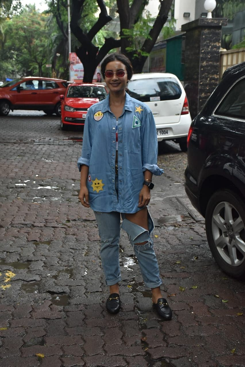 Patralekha spotted at dance class in Andheri