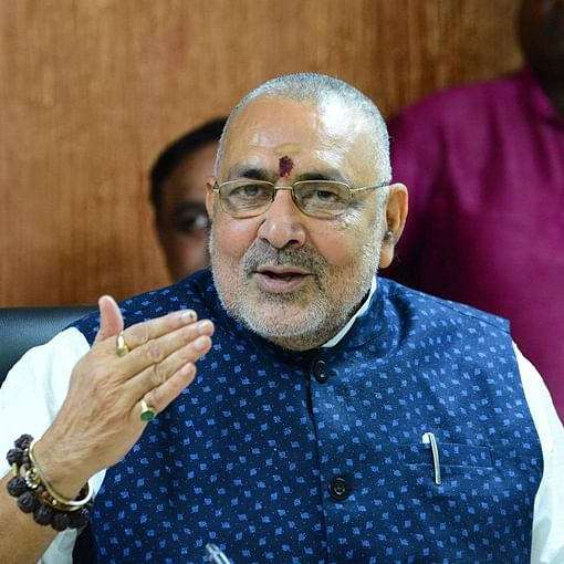 Beat up officials with bamboo sticks if they don't listen, says Giriraj Singh