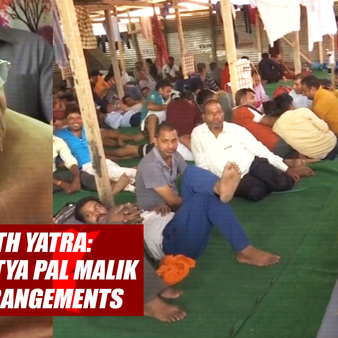 Amarnath Yatra: Governor Satya Pal Malik Reviews Arrangements In Srinagar