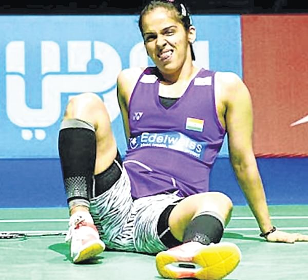 Saina Nehwal dealing with bruise in pre-Olympic year